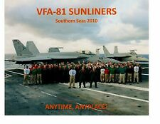 Boeing FA18 Hornets VFA81 Sunliners Navy Fighter Aircraft Photograph 8x10 2010