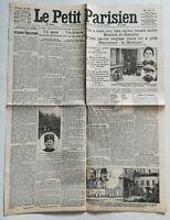 N919 La Une Du Journal Le Petit Parisien 8 Avril 1912 un agent