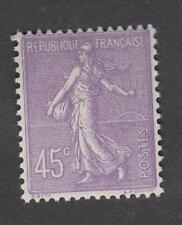 France - Timbre Neuf ** - Semeuse  N°197a violet clair - TB