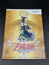 The Legend of Zelda Skyward Sword Instruction Manual Nintendo Wii EXMT condition