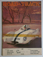 ROAD & TRACK MAGAZINE VINTAGE BACK ISSUE 1957 MARCH LOYUS ELEVEN