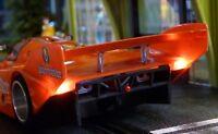 Slotcar LED LICHT Beleuchtung WARMWEISS Heck & Front + GOLDCAP für Slot.it 88888