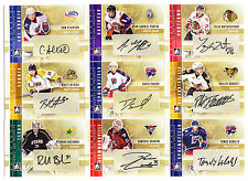 47ct Different 2011-12 ITG Heroes Prospects Auto Autographed Card Lot