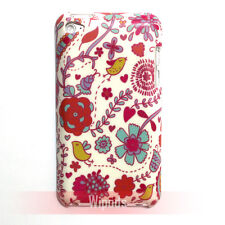 Bird Vine Flower Pattern Design Hard Case Cover for iPod Touch 4 4th generation