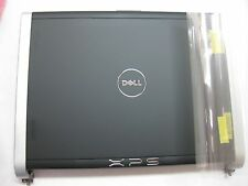NEW Dell XPS M1330 LCD Back Cover with HINGES and Cables HR170 GENUINE
