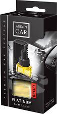 Nachfueller For Air Freshener Areon Lux Auto Perfume Platinum Scent