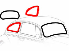 VW Bug Beetle QUARTER SIDE Window Seal 1pc 1965-1977 RUBBER for Trim weatherstri