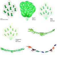 Cartoon Dinosaur Flag Balloon Banner Baby Birthday Party Home Hanging Decor New