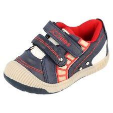 Scarpe blu sintetici per bambini dai 2 ai 16 anni Numero 36