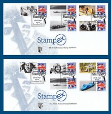 GB 2012 - Autumn STAMPEX - Pair of Smilers FDC's - BC-389-FDC