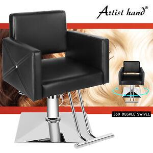 Swivel Hydraulic Barber Chair Salon Hair Styling Beauty Spa Shampoo Equipment