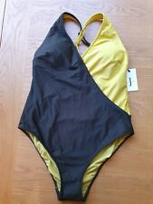 BNWT Jasper Conran Green Wrap Swimsuit Size 12