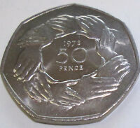Royal Mint 1973 BUnc Coin FIFTY Pence 50p EEC END OF AN ERA OUT OF EU
