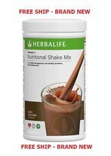 New listing Herbalife Formula 1 750 Nutritional Shake Mix Dutch chocolate Sealed & FREE SHIP