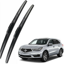 Genuine OEM Front Windshield Wiper Blades For 2014-2020 Acura MDX Full Series