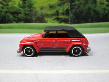 HOT WHEELS   VW VOLKSWAGEN THING TYPE 181 (red)  NEW 2015 5 CAR PACK
