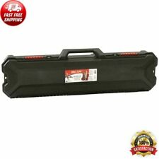 Hard Durable Hard Shell Ice Fishing Rod Protection Carrying Case Plastic Tackle