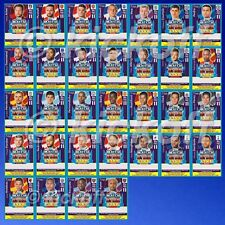 Match Attax 2017-2018: Set of 32 LIVE CODES for Pro 11 cards. Unused. NEW. 17-18