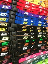 Nike Lanyards Detachable Keychain ID Badge Phone Holder 28 Colors Available
