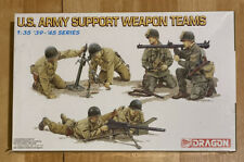 Dragon 6198 Scale 1:35 '39- '45 U.S. Army Support Weapon Teams-Factory Sealed