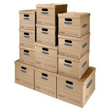 Bankers Box SmoothMove Classic Moving Kit, Assorted Boxes, 12 Pack