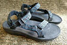 Teva 6294 Hurricanes sport sandals size 7 blue and black