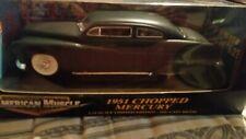 1951 Mercury flat black 1:18 Model Car