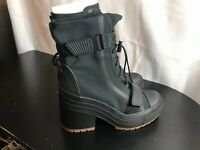 Women's Converse GR82 Chuck Taylor All Star Boot 563468C Black Size 9.5