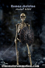 Human Skeleton 1/6 Scale Diecast Metal Body by Coo 161CO13