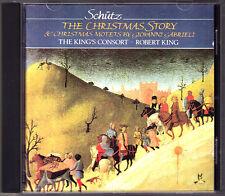 SCHÜTZ Christmas Story ROBERT KING'S CONSORT Hyperion CD Die Weihnachtshistorien