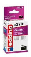 CANON CLI-526BK original edding Patrone 273 schwarz