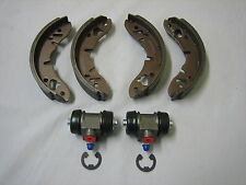 GBS834AFZ MINI MORRIS LEYLAND CLUBMAN MOKE REAR BRAKE SHOES/WHEEL CYLINDER KIT