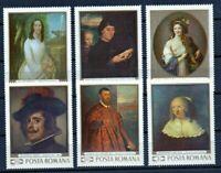 RUMANIA / ROMANIA / ROUMANIE año 1969  yvert nr. 2489/94  nueva  cuadros