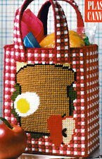 ~ ~Plastic Canvas * Pattern Only * ~ Lunch Tote ~ Really Cute ~ ~ ~