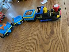 Geotrax Push Train Engine with cars