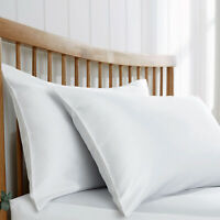 Luxury Quilted Pillows Ultra Soft Jumbo Super Bounce Back Pillows - 2 Pack