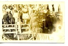 Royal Barber Chairs-Military Navy Initiation-RPPC-Vintage Real Photo Postcard