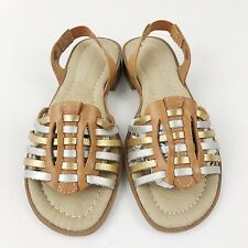 Montego Bay Club Leather Sandals Size 6