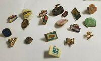 Lot Of 19 Vintage Pins - Canada Northern BC Mixed
