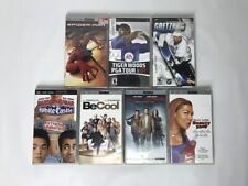 Sony PSP 5 Movie 2 Video Game Lot Spiderman Pineapple Express Tiger Woods Golf