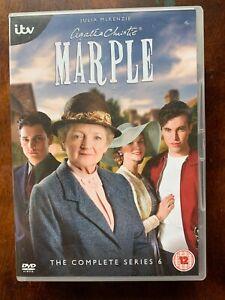 Marple Saison 6 DVD Agatha Christie Crime Detective Série W / Julia Mckenzie