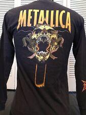 Metallica Pushead Tour Shirt Sz S Slayer Rock Anthrax Metal Ozzy Priest Pantera