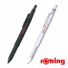 Rotring 600 3in1 Multi Pen Black Silver Set 2121116 2121117 Ballpoint pen pencil