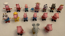 Peppa Pig Toy Action Figures Lot Of 16 Characters Jazwares 2003