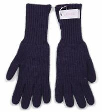 *NEW* J.Crew Women's Ribbed Smartphone Gloves in Navy Blue - One Size *NWT*