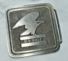 "x 2-1/2"" Eagle Belt Buckle Look Estate: 1977 Pewter U.S. Post Office 2-1/2"