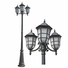 Gorgeous Black Finished Outdoor Post Pole Light Lighting Lamp OTN0006-PL-3