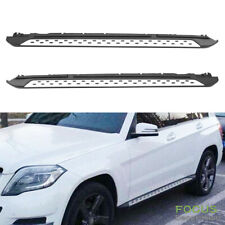 For 10-15 X204 Benz GLK 350 Aluminum Running Boards Pair Set Side Step