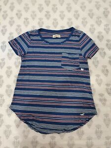 Hollister Stripe Tshirt Size XS