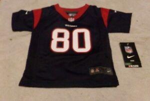 Genuine NFL Houston Texans Jersey #80 Andre Johnson Kids Size 18M  NWT
